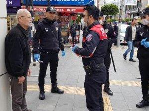 Maaşını çekmek için evden çıkınca polise yakalandı, 'Param kalmadı' dedi