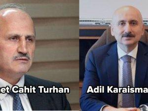 Ulaştırma Bakanı Cahit Turhan görevden alındı