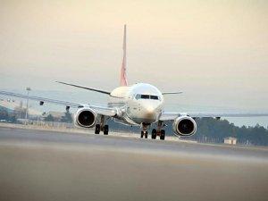 Hava yolu yolcu sayısı 3 ayda 43 milyonu geçti