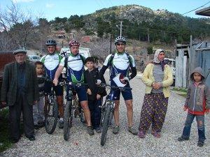 Manavgat'ın parkuru Avrupalı bisikletçileri büyülüyor!