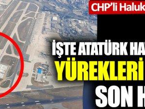 Atatürk Havalimanı'nın yürekleri burkan son hali!