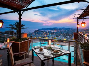 Lezzetin manzara ile buluştuğu The Marmara Bodrum Tuti Restaurant