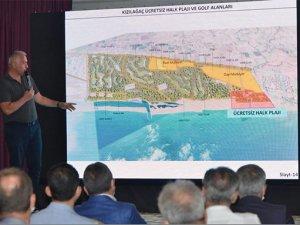 Bakan Ersoy:Uluana'ı Golf turizminde ikinci Belek yapacağız