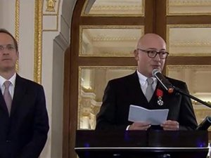 "Ferit Şahenk'e ""Legion d'Honneur"" nişanı"