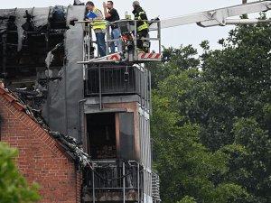Almanya'da apartmanın üzerine uçak düştü: 2 ölü, 2 yaralı