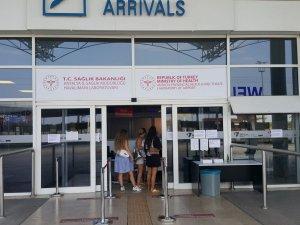 Turistin korona virüs testleri otelde yapılacak