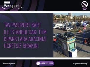 TAV Passport üyelerine İSPARK'taücretsiz otopark