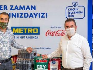 Metro Türkiye'den 1.500 küçük işletmeye can suyu
