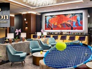 Hilton Istanbul Maslak, Tenis Turnuvası misafirlerini ağırlıyor