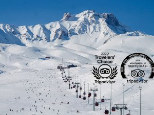 Tripadvisor'dan Erciyes'e 2020 Travellers' Choice Ödülü