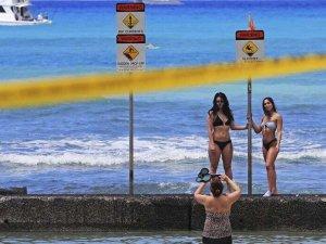 Hawaii testi negatif çıkan gezginleri karantinaya almıyor