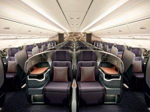 Singapur Havayolları 4'üncü Airbus A380'ne izole kabin yaptı