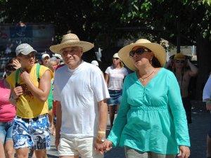 Ruslar 27 yıl içinde Antalya'da tatil yapmayı pekiştirdi