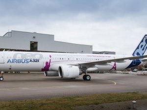 A321neo ACF hangardan çıktı