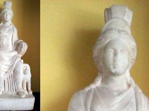 """1700 yıllık ana tanrıça """"Kybele"""" Türkiye yolunda"""
