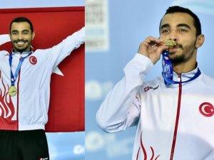 Cimnastik Şampiyonası'nda Ferhat Arıcan altın madalya kazandı