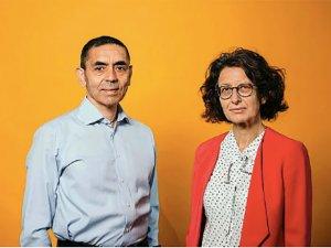 Der Spiegel'de yılın ilk kapağı: Uğur Şahin ve Özlem Türeci