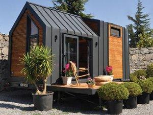 Yürüyen karavan (Tiny House) Trabzon'da üretiliyor!