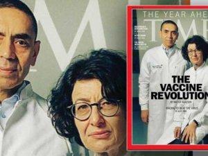 Uğur Şahin ve Özlem Türeci,Time kapağında yer aldı