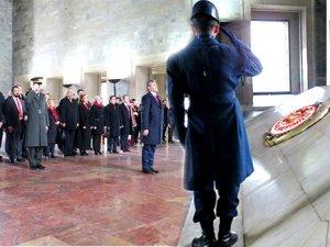 Emin Çakmak Anıtkabir'de: İstikbal turizmdedir