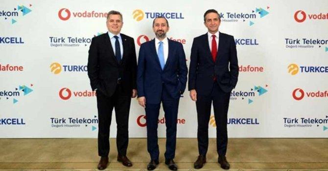 Turkcell, Türk Telekom ve Vodafone'dan tarihi anlaşma!