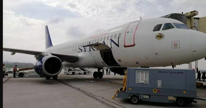 Syrian Air, 2011'den beriberi ilk kez Halep-Beyrut seferi düzenledi