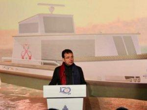 İmamoğlu: İstanbul'da 50 deniz taksi hizmet verecek