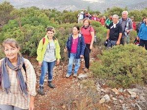 2400 yıllık 185 kilometrelik Leleg Yolu, turizme kazandırılıyor
