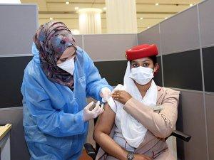 Emirates Grubu, COVID-19 Aşı Programını Uygulamaya Koyuyor