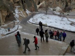 Kapadokya'da turist sayısında yükseliş var