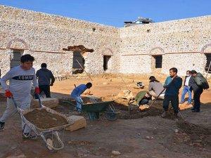 Gülevşen Cami'nin zemin kazıları başladı