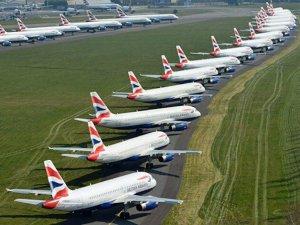 Koronavirüs İspanyol Airlines'a 7.4 milyar dolar zarar ettirdi