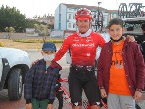 Polonyalı Bisikletçi Banaszek'in antik şehirdepedal heyecanı