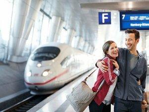 Lufthansa ve Deutsche Bahn'dan tren-uçuş hizmeti