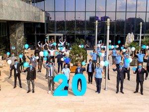 Adana'nın ilk 5 yıldızlısı HiltonSA 20. yılını kutluyor