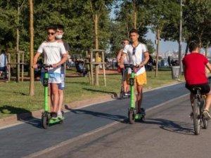 Elektrikli scooterlara yeni yönetmelikle yeni kurallar geldi