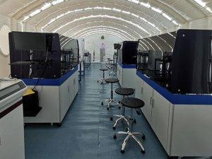 Etiyopya, havaalanında COVID-19 Test Laboratuvarı açtı