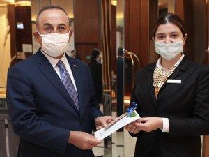 Hilton Istanbul Maslak'ta Bakan Çavuşoğlu ile Çevre Günü buluşması