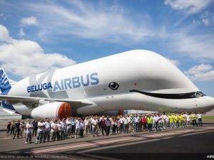 Gökyüzünün beyaz balinası Beluga uçağı veda etti