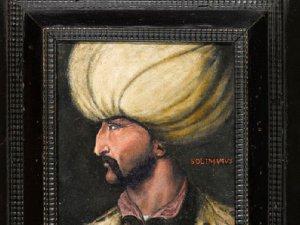 Kanuni portresi alıcısı tarafından İBB'ye bağışlandı
