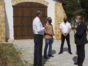 Turizm Bakanı Ataoğlu, Lefke, Güzelyurt ve Girne'de Müze çalışmalarında