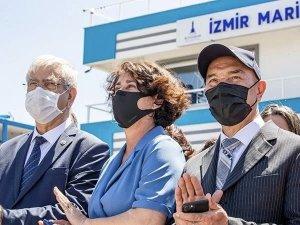 İzmir Marina törenle halkın hizmetine açıldı
