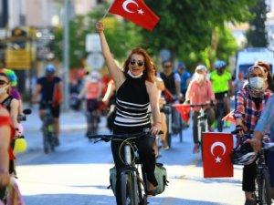 Muğla'da Dünya Bisiklet Günü kutlandı