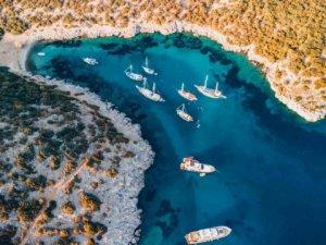 Türkiye'nin en güzel mavi tur noktaları tatilcileri bekliyor