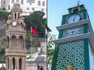 Tarihi saat kulesini 'Çan kulesine' benziyor diye yıkıp böyle yaptılar!
