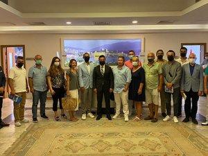 BODER, Mavi Değişim ekibi Bodrum Belediyesi'ni ziyaret etti