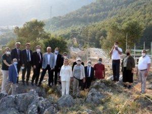 Turizm Bakan Yardımcısı Alpaslan, Akyaka Ortaçağ Kalesinde