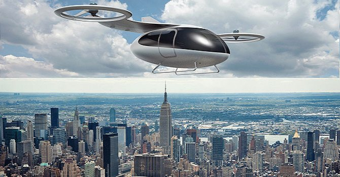 Hong Kong'u drone taksi ile 25 dolara havadan görmek
