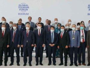 """Dünyanın turizm liderleri Bodrum'u """"marka yapmak"""" için buluştu"""