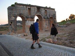 Myra, Patara, Xanthos ve Aziz Nikolas'ı 29 bin kişi ziyaret etti